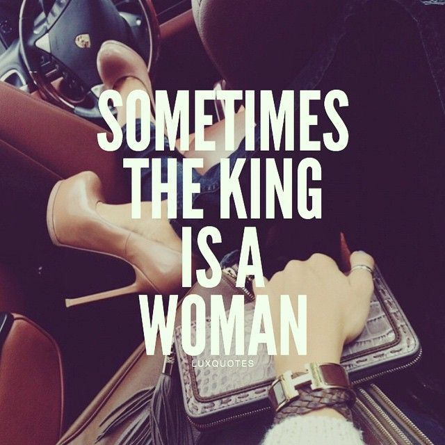 Why do some women feel like u can only build an empire with a man?? Eff that Ima do it with or without you