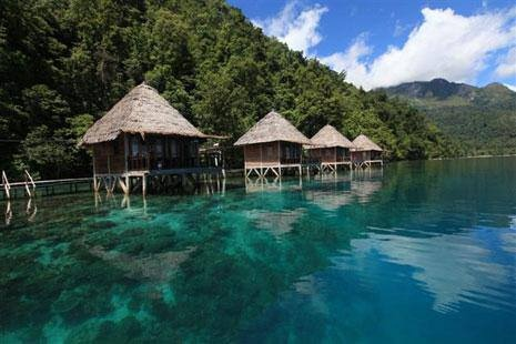 "Let's go to ""Bora-Bora"" Indonesia version, Ora Beach, Seram Island, Molucca, Indonesia!