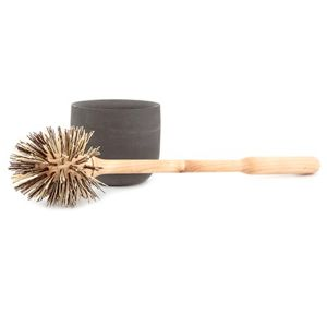 Iris Hantverk Loo Brush & Concrete Holder: Simple, elegant and stylish loo brush and polished concrete holder.