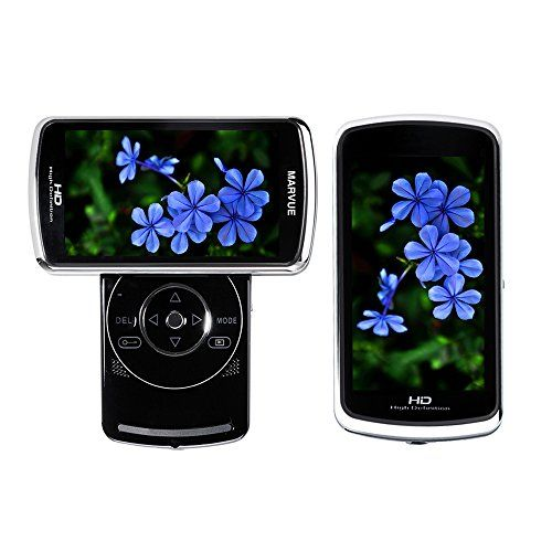 MARVUE V80 FHD Digital Video Recording 1080P Camcorder Blue-Ray Touch Button 3.5 Inch HD Screen (BLUE) - http://camcorders.nationalsales.com/marvue-v80-fhd-digital-video-recording-1080p-camcorder-blue-ray-touch-button-3-5-inch-hd-screen-blue/