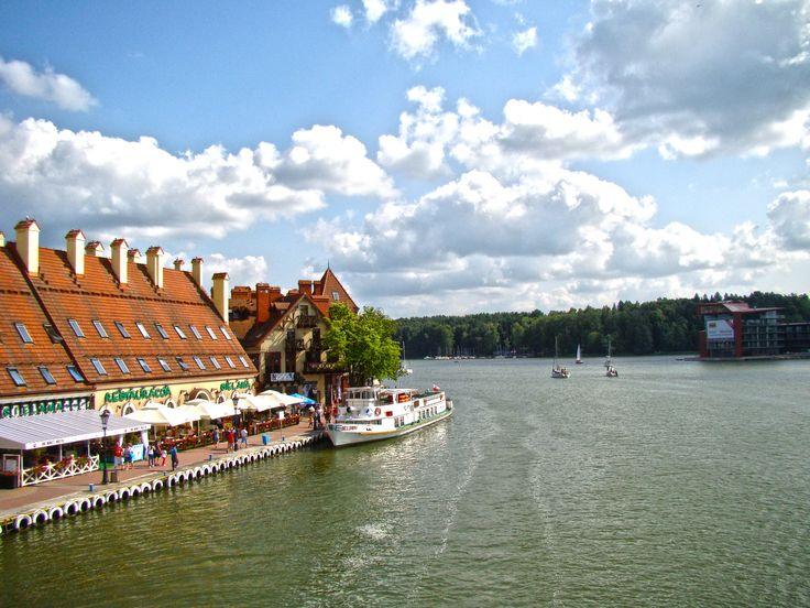MIKOŁAJKI - Beautiful city in Poland #poland #travel #podróże #mikołajki #adventure