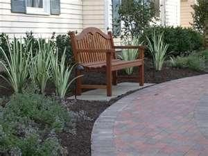 foundation plantings for front of house front yard landscaping ideas pictures chester. Black Bedroom Furniture Sets. Home Design Ideas