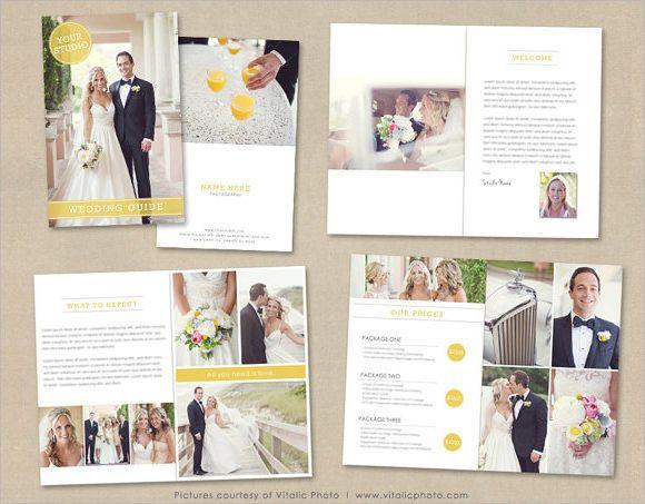 Sample Wedding Brochure In 2020 Wedding Photography Magazine Template Wedding Brochure Photography Magazine Template