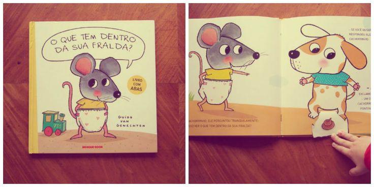 Na história, um ratinho muito do curioso e intrometido vai bisbilhotando a fralda de cada um dos seus amigos .