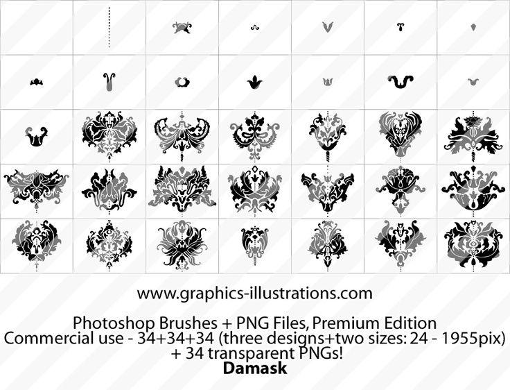 DAMASK TATTOO DESIGN | Tattoos. | Pinterest