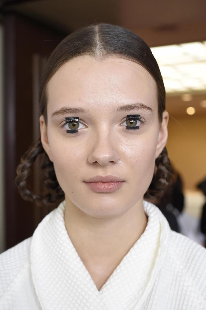Backstage at Dior Pre-Fall 2015 [Photo by Giovanni Giannoni]