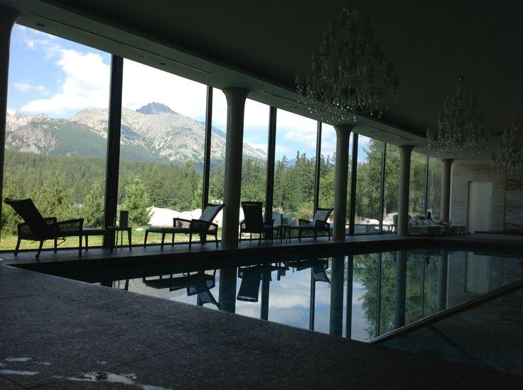 Grand Hotel Kempinski High Tatras ve městě Štrbské Pleso, Prešovský kraj