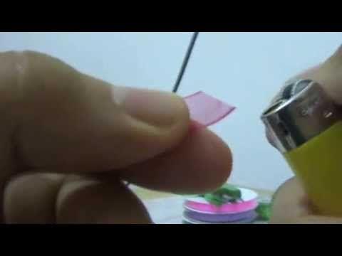 Yeni Pullu Firkete Oyası : New Sequin Hairpin Lace - YouTube