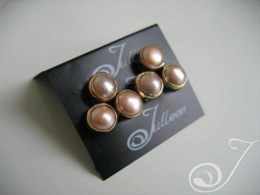 Clip On Shireen Pink Earrings – Pearl Jewellery