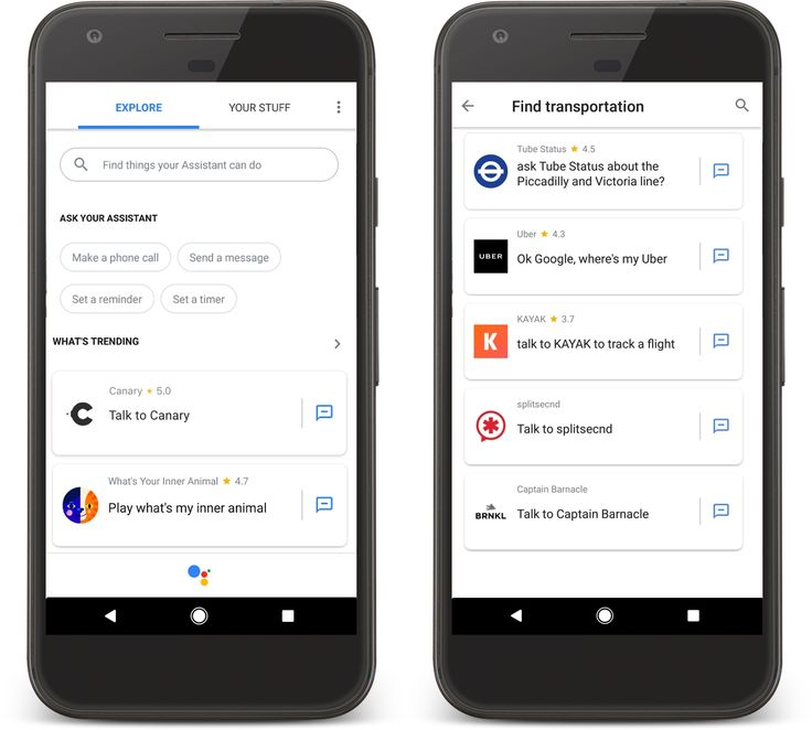 Google Assistant Gets App Directory, Push Messages and Custom Invoke Actions: With the Update of Google Assistant, developers can implement…