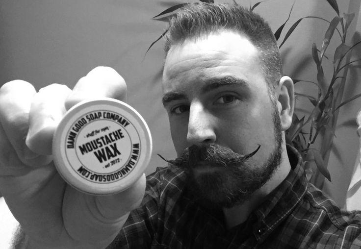 Imponerad! | Testpiloterna  Damn Good Soap Company Moustache Wax