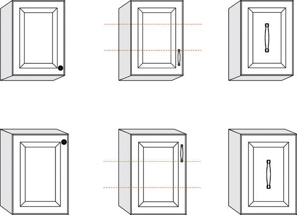 16 best Cabinet hardware placement images on Pinterest ...