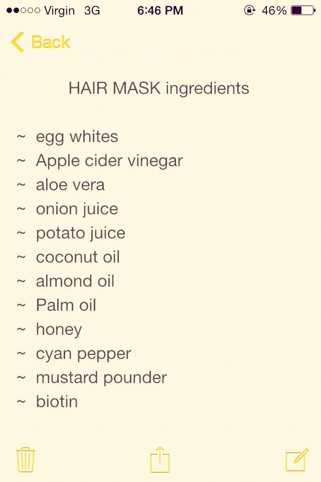 Extreme Hair Growth Mask #Beauty #Trusper #Tip