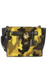 Stand out from the crowd! Deze cross body tas van Hamilton Traveler van Michael Kors in camouflage kleuren is super trendy. Handtas, sac à main, handbag, beschikbaar op www.edisac.be