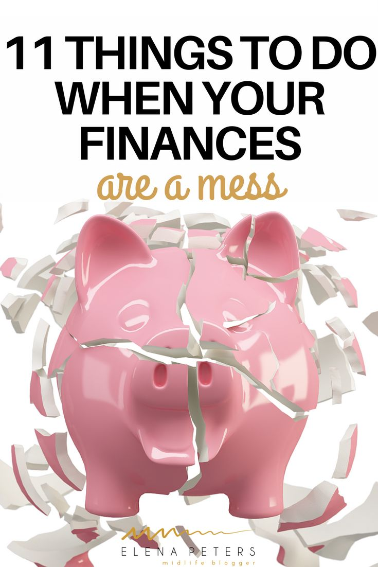 The first step is to put your big girl pants on, stop ignoring the big pink debt elephant in the room and get to work. If you ready to get off the hamster wheel and break the cycle of living paycheck to paycheck, here is my process, step by step, to get back on track when your finances and budget are a mess. #budget #finances