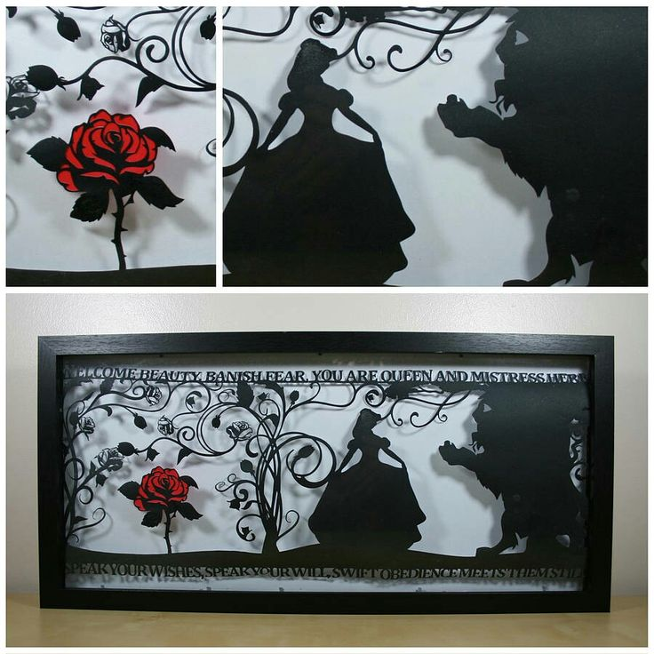 Nifty beauty and the beast art