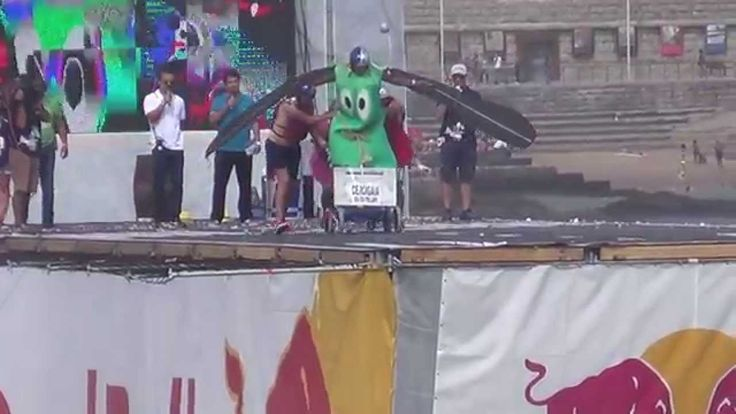 Red Bull Flugtag 2014 WORLD RECORD for no distance!
