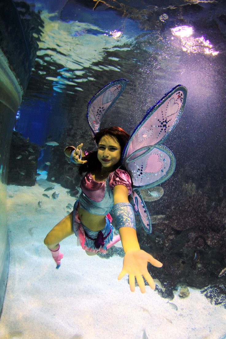 Wİnx Fairies underwater show  @Turkuazoo Akvaryum Aquarium