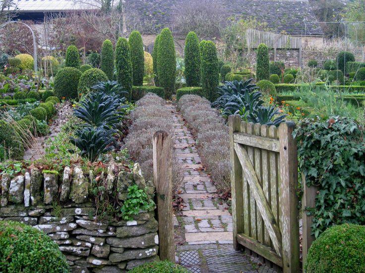 Barnsley House kitchen garden - Cotswolds