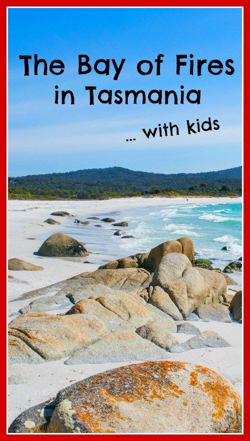 The Bay of Fires.  Make time to visit this place before the rest of the world catches on that its here!