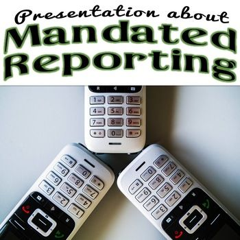 This presentation on mandated reporting is perfect for teachers and other school staff. Looking for a 30-45 minute training on mandated reporting for back to school season? This presentation demystifies mandated reporting for teachers, secretaries, custodians, coaches, and bus drivers.