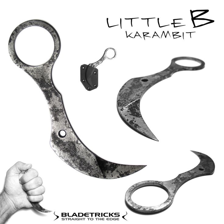 BLADETRICKS LITTLE B KARAMBIT | army | Pinterest | Tactical knives, Knife making and Blade