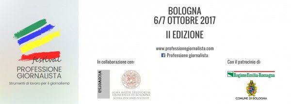 Lo staff è lieto di annunciare la docenza di Federica Ferretti al Festival bolognese Professione Giornalista. Staff.
