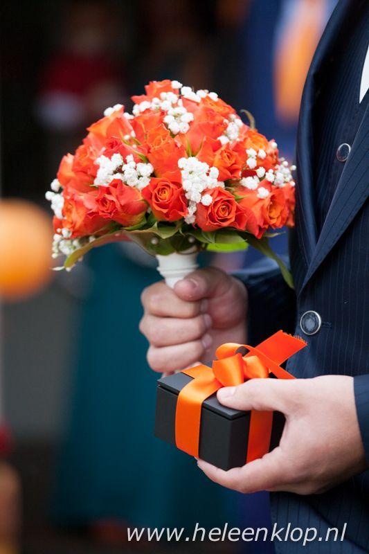 Bruidsboeket Bruiloft S Oranje