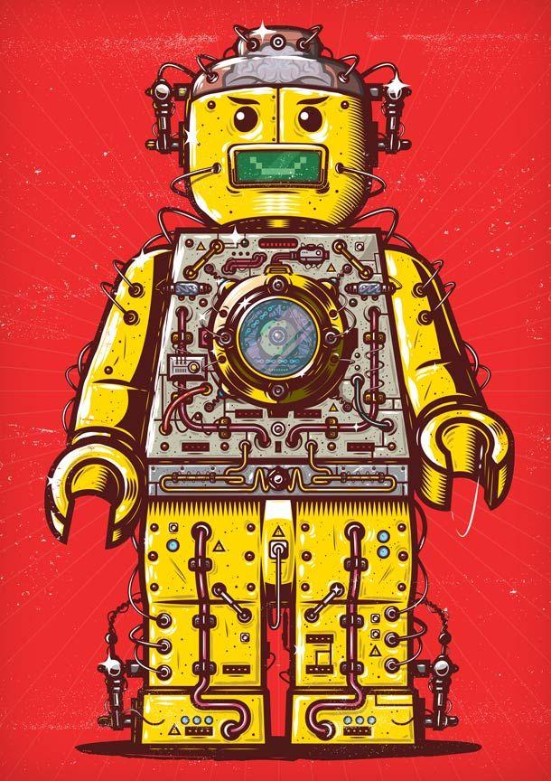 LEGO HAPPY PEOPLE PARTY  #publicidadinquieta