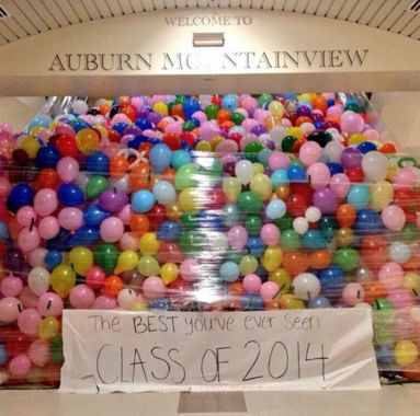 Love the balloons, we could fill the CCC with them maybe or the commons