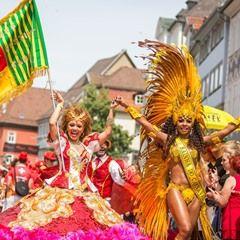 25th International Samba Festival in Coburg, Germany