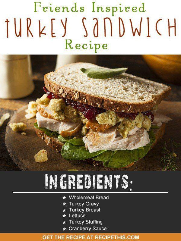 Welcome to my Friends inspired Thanksgiving Turkey Sandwich recipe.