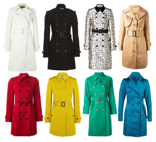 Trench coat obsession!!!! GOT TO LOVE THEM! ¿which one is your favorite?