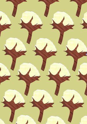 Cotton print - contemporary