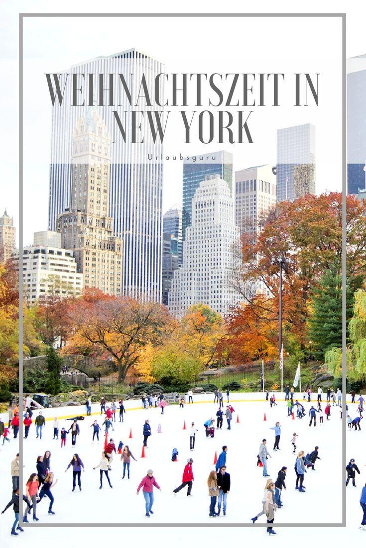 """New York ist zur Winter- und Weihnachtszeit ein echter Traum. Der Weihnachtsbaum am Rockefeller Center, der verschneite Central Park und die magische Weihnachtsbeleuchtung der Geschäfte ziehen uns nicht erst seit dem Film """"Kevin allein in New York"""" in ihren Bann. Kommt mit nach New York City, ich zeige euch die schönsten Orte und besten Gelegenheiten für das Weihnachtsshopping. #newyorkcity #weihnachten #christmas"""
