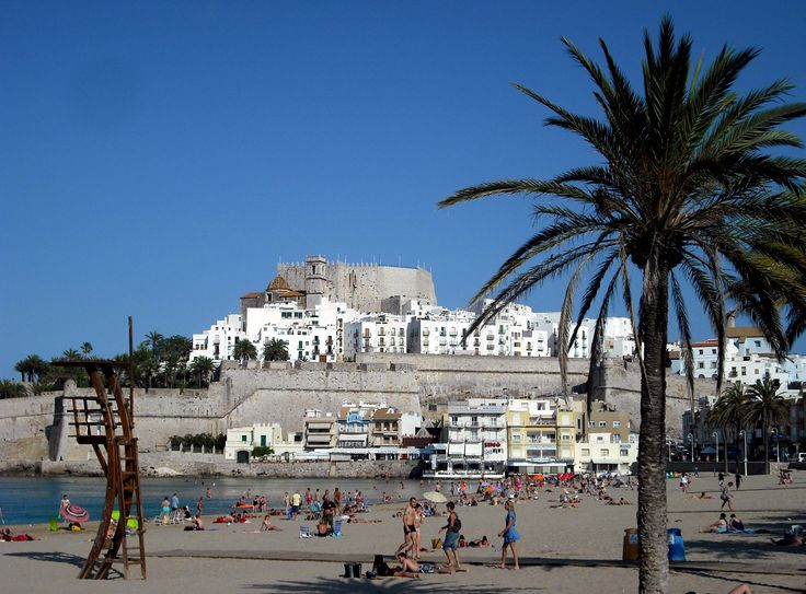 Peniscola Castle, Valencia, Spain. This is a lovely spot on the coast and we have stayed there twice.