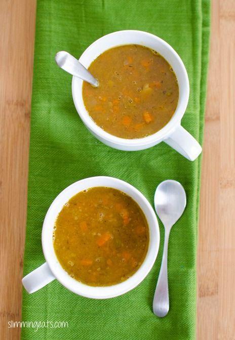 Vegetable Soup | Slimming Eats - Slimming World Recipes