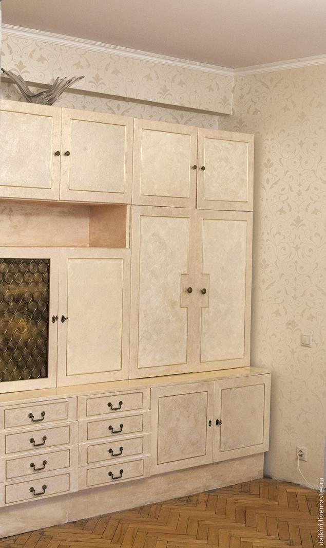 рукав доломан реконструкция старой стенки своими руками фото полоса обоев должна