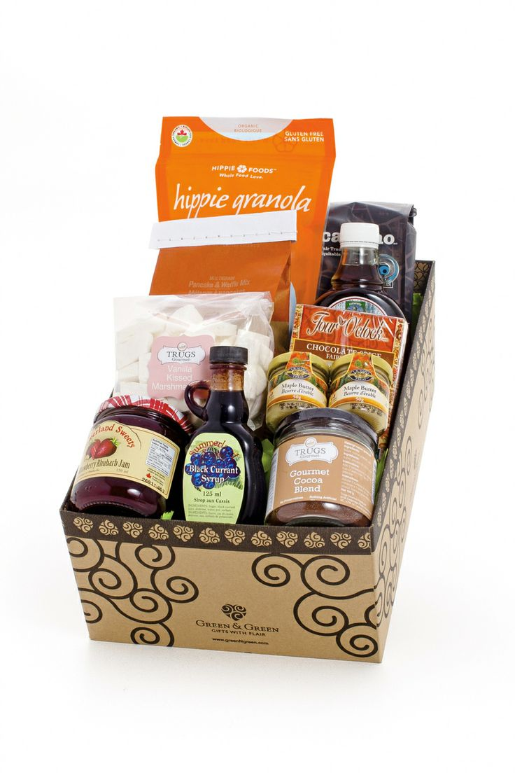 20 best gourmet gift baskets images on pinterest gourmet gifts greenngreen gifts with flair breakfast in a box 13500 http negle Choice Image