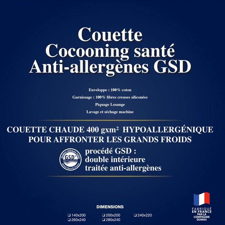 Couette Chaude Cocooning Santé : commandez en ligne sur le site de La Compagnie du Blanc
