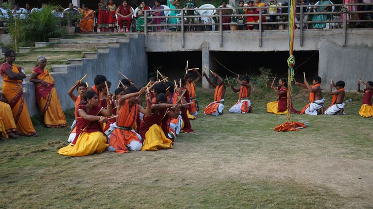 Kolattam Dance is one of the most famous dance of sankranthi festival celebrated konaseema  andhra pradesh.