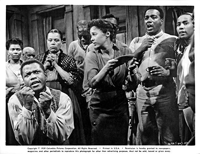 Sidney Poitier, Ruth Attaway, Pearl Bailey, Diahann Carroll, Dorothy Dandridge, and Leslie Scott in Porgy and Bess (1959)