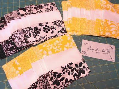 Signature quilt blocks