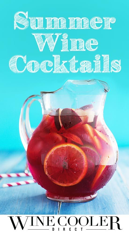 This summer, spice up your drink menu with one of these unique summer wine cocktails. Click here for 7 fun summer wine cocktail recipes.