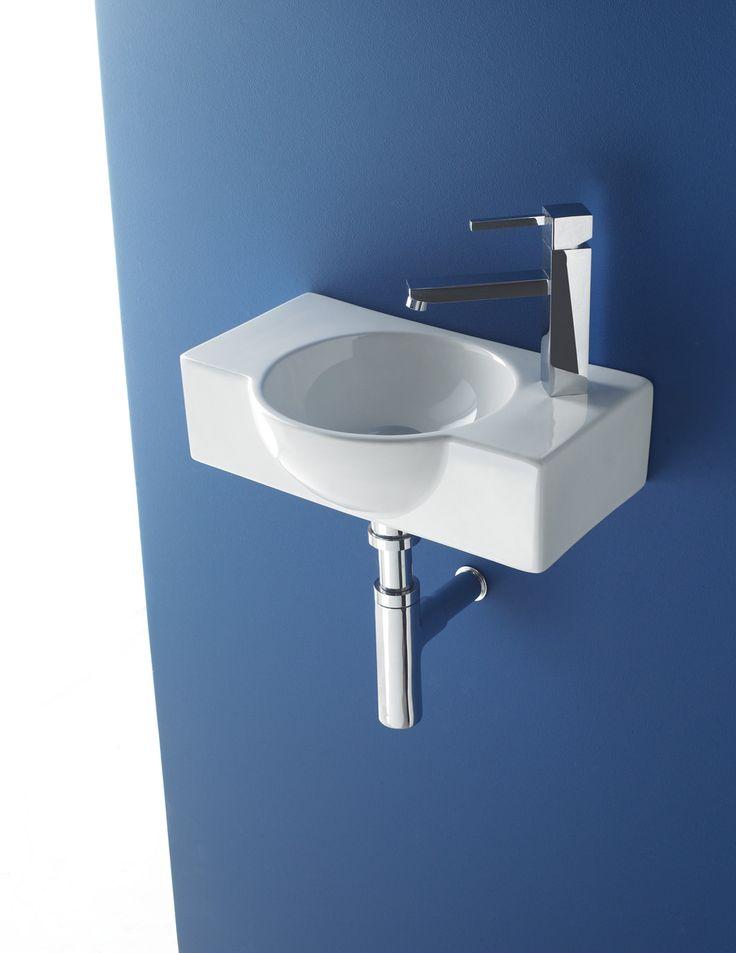 Lavabo venecia 40 ref 4052 medidas 400x260x110 mm for Medidas lavabo