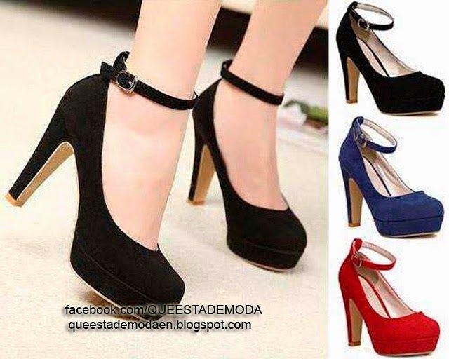 Zapatos negros de verano Tacón de aguja para mujer Z35hm4T