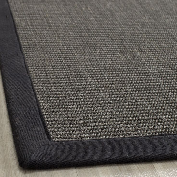 Safavieh Casual Natural Fiber Hand Woven Serenity Charcoal