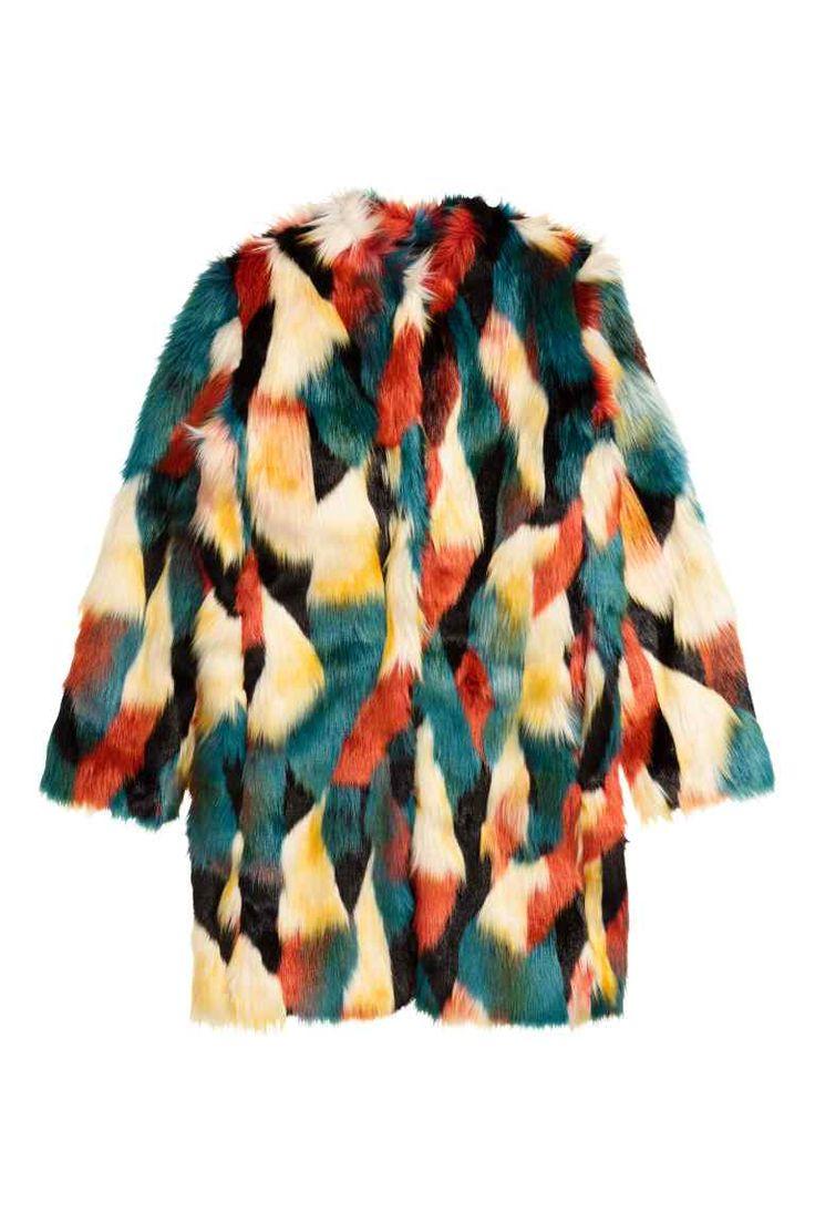 Kabát z umělé kožešiny | H&M