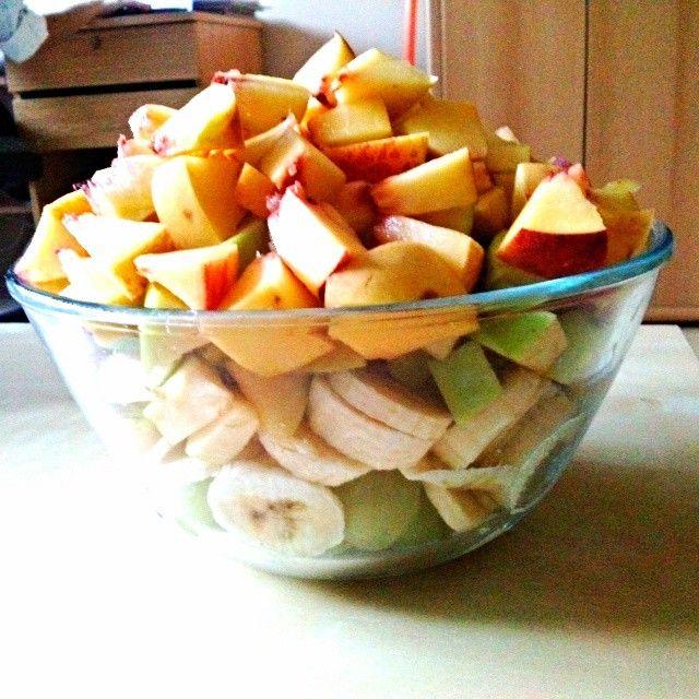 Fruits <3 #fruits #fruit #apple #banana #greap #eat #foodgasm #eating #healthy #healthyfood #yummi #followforfollowback #follow4follow #followmeplease