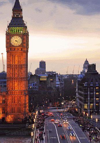 Londra pulsante di vita! :)